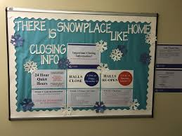 Information Board Design There Is Snowplace Like Home Closing Info Bulletin Board Ra