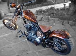 copper flake black old skool paint job sure makes a chopper stand out from the crowd find this pin and more