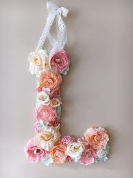 flower letters ideas wedding flower letters floral letters vintage wedding by paulettastore