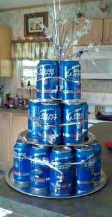 Bud Light Birthday Bud Light Cake Made This As A Gift For Our Friends And It