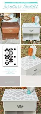 cutting edge furniture. Cutting Edge Stencils Shares How To Easily Makeover Old Furniture Using Paint And The Zamira A