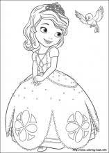 Sofia The First Coloring Pages On Coloring Bookinfo
