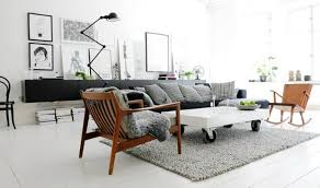 scandinavian furniture style. Scandinavian Design Mingles Withe Industrial Style Furniture