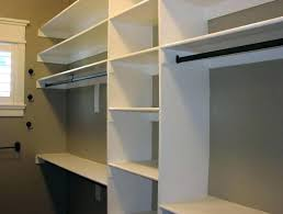 build a closet from scratch building walk in your own best shelving for walk in closet build