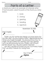 Parts Of A Friendly Letter Onlinemastermind Club