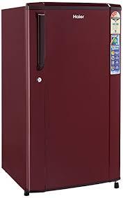 haier refrigerator single door. haier 170 l 3 star direct-cool single door refrigerator (hrd-1703sr-r/hrd-1703sr-e, burgundy red) - homebag.in o