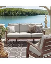 Find the Best Deals on Yasawa Brown Modern Outdoor Cushioned Wood