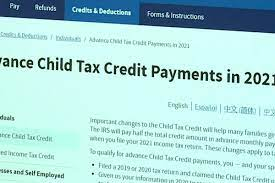 Advance Child Tax Credit payments ...