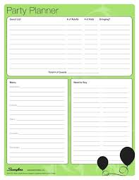 Party Planner Spreadsheet Party Planner Templates Birthday Planning Checklist Template Free