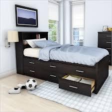 Sonax Willow Captain's Storage Bed 3 Piece Bedroom Set in Ravenwood ...