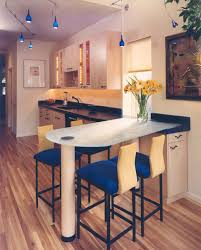 Interior Exquisite Image Of Modern Kitchen Decoration Using Solid - Kitchen counter bar