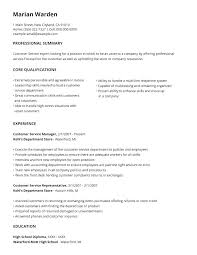 Resume Structure Format Chronological Resume Template Sample Resume ...