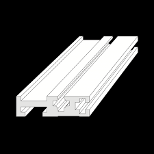 eurorack rail length 19inch x1 units