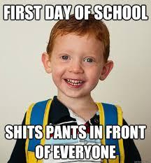 First Day of School Memes - via Relatably.com