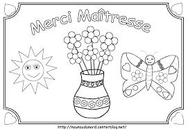 Dessin A Imprimer Pour La Maitressell