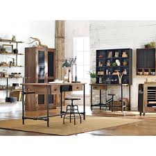 rustic home office furniture. Weathered Black Desk Rustic Home Office Furniture