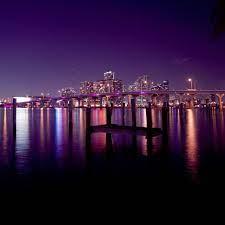 Miami Skyline iPad Air Wallpaper ...