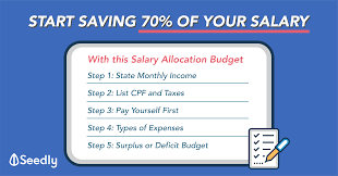 Budget Expenses Template Reduce Your Expenses To Only 30 Of Your Salary With This