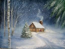 Let It Snow 8 Classic Winter Painting Ideas Painting Winter