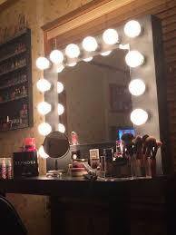 diy makeup vanity mirror. Plain Diy Picture Of Vanity Mirror With Lights On Diy Makeup A