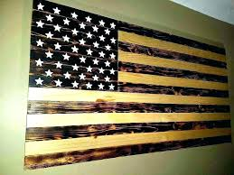 wooden american flag wall art enchanting ideas decor famous mold collections diy wood