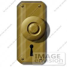 door knobs clipart. Interesting Door 42376 Clip Art Graphic Of An Old Fashioned Door Knob And Key Hole By DJArt Throughout Knobs Clipart
