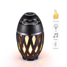 online shop usb led flame lights bluetooth speaker outdoor portable bluetooth speaker usb led flame lights outdoor portable led flame atmosphere lamp stereo speaker outdoor camping