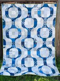 Blogger's Quilt Festival – Mod Pop – Play Crafts & Quilt Details: Design: Mod Pop – pattern by Julie @ Distant Pickles  Dimensions: Twin sized – 60″ x 80″ Fabrics: There are at least 25 different  navy fabrics ... Adamdwight.com