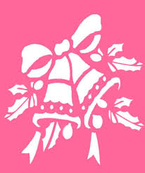 Free Christmas Stencils Advent Craft Ideas For Children To Cut Out