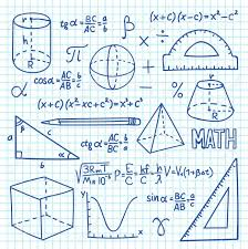 Math Formula Chart For Geometry Stock Illustration