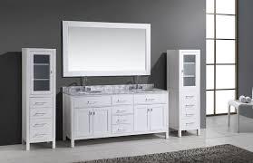 bathroom vanities set. 72 London Double Sink Vanity Set In White With Two Matching Linen Dimensions 1400 X Bathroom Vanities