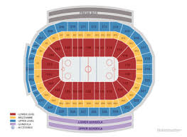 Detroit Red Wings Home Schedule 2019 20 Seating Chart