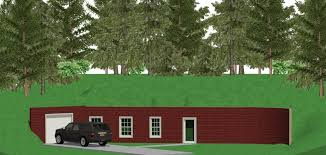 FamilyHomePlanscom  Earth Sheltered Home PlansEarth Contact Home Plans