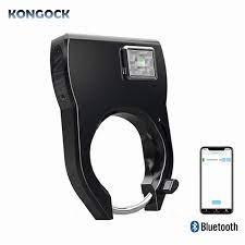Anahtarsız Bluetooth App Akıllı Bisiklet Kilidi, Qr Kod Erişim Anti  Hırsızlık Alarmı Ve Su Geçirmez Kişisel,