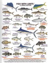 Florida Game Fish Florida Fish Fish Chart Freshwater Fish
