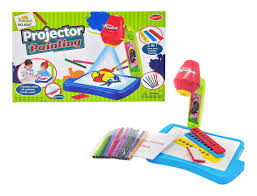 Little Treasures Projector Learningdrawing Painting Set Projecting Images To Help Kids Trace And Draw Educational Fun