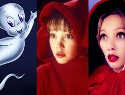 casper and wendy. hilary duff posts throwback pic from casper meets wendy and e