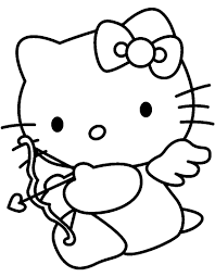 Disegni Di Hello Kitty Da Colorare E Da Stampare