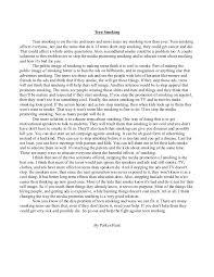 teen smoking essay