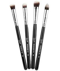 sigma beauty synthetic precision brush set of 4