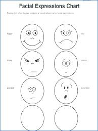 facial expressions worksheets for kindergarten worksheet english ...