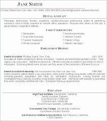 Entry Level Resume Objective Impressive Entry Level Dental Assistant Resume Awesome Entry Level Resume