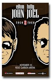 Shop for billy joel posters at wolfgangs.com. Elton John Poster W Billy Joel Concert 11 X 17 Inches Face 2 Tour Ships Sameday From Usa Concertposter Org