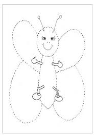 Free Printable Trace Line Worksheet for Kids - Preschool and ...