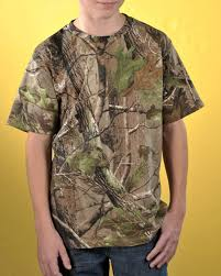 Code Five L2280 Realtree Camouflage Tee For Youth