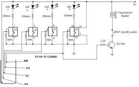 level indicator circuit using cmos ics water level indicator circuit using cmos ics