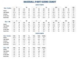 Youth Baseball Pants Size Chart Buy Wilson Sporting Goods Youth Deluxe Poly Warp Knit