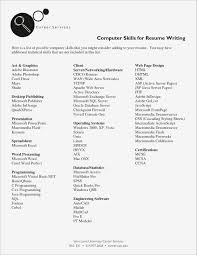 Personal Skills To Put On A Resume Resume Skill List Sample Personal Skills Put Examples Slo A Of For