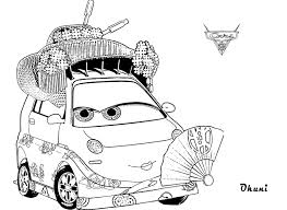 Small Picture Okuni Coloring Pages For Kids Cars 2 Cartoon Coloring pages of