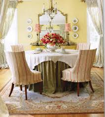chic french country inspired home real comfort and french country dining room chair covers
